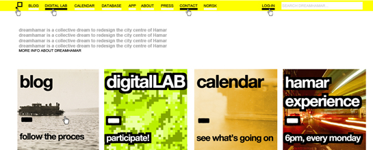 dreamhamar homepage
